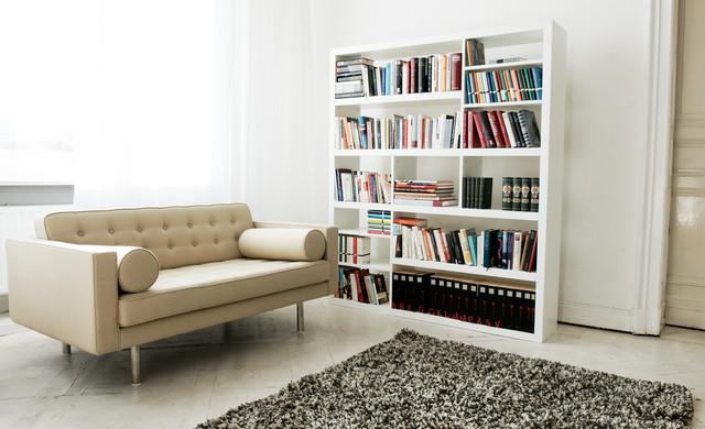 Chelsea Beige 2-Seat Sofa modern-sofas