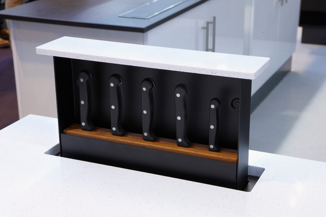 S-Box Concealed Storage System - Traditional - Knife Storage - raleigh - by Innovative Product ...