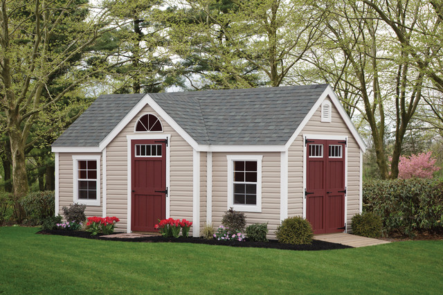 Traditional   Sheds   Other Metro   By Riehl Quality Storage Barns LLC .