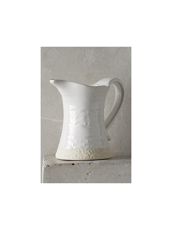 Anthropologie - Old Havana Creamer - Stoneware. Dishwasher safe. Portugal