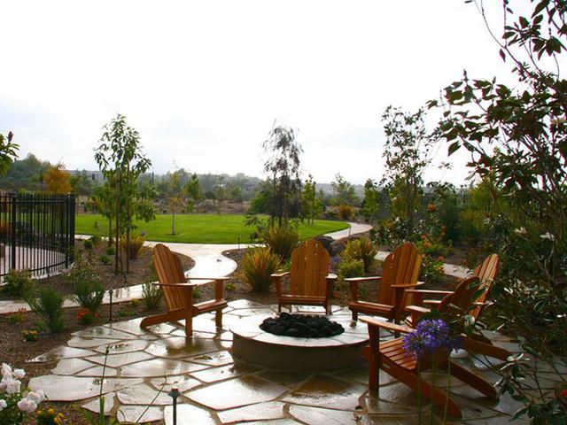 Rancho Santa Fe mediterranean-fire-pits