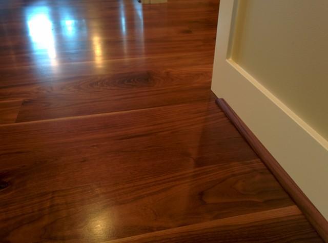 Select character grade black walnut plank flooring for Hardwood floors atlanta