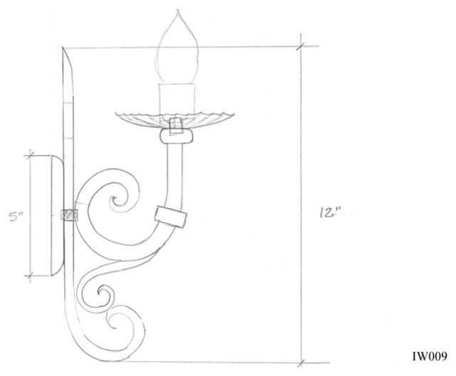Iron Sconce Designs