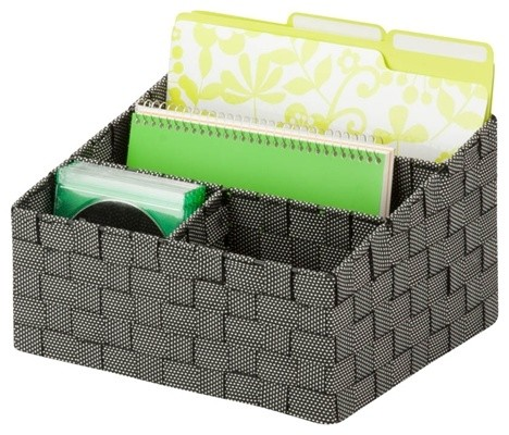 Mail and File Desk Organizer - Contemporary - Desk Accessories - by Honey-Can-Do International LLC