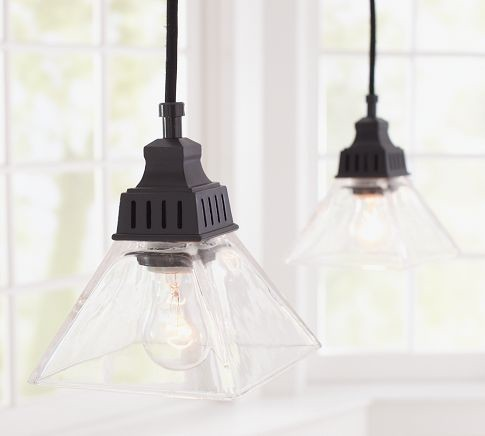 Bixler Pendant Track Lighting | Pottery Barn traditional pendant lighting