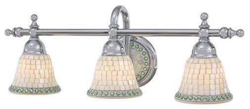 Minka Lavery ML 6053 3 Light Bathroom Vanity Light from the Piastrella Collectio traditional-bathroom-vanity-lighting