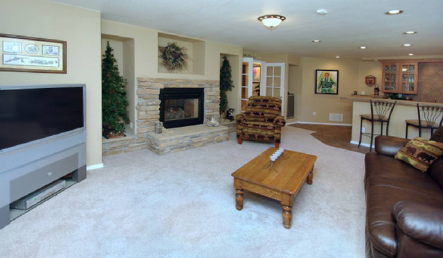 Living Spaces traditional-family-room