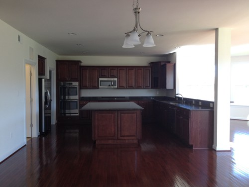 I hate my new builder 39 s kitchen please help for K hovnanian home design gallery