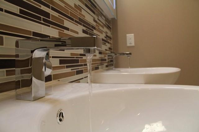 Customer Bathroom Renovation contemporary-bathroom