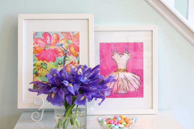 Summer Breeze Art Print artwork