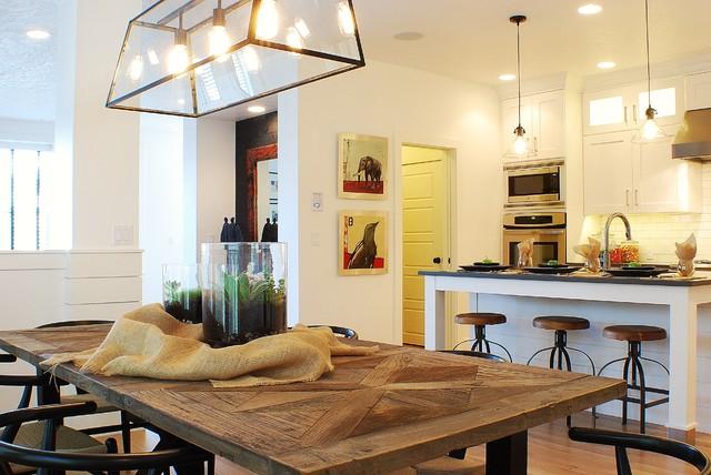 Modern Farmhouse Dining Room/Kitchen farmhouse-dining-room