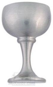 Atlas Homewares - Cabinet Hardware - Wet Bar Wine Glass Knob in Brushed Nickel wine-and-bar-cabinets