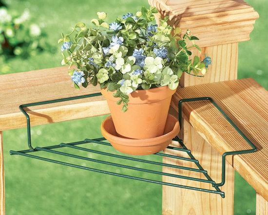 Corner Flower Plant Caddies, Set of 2 -