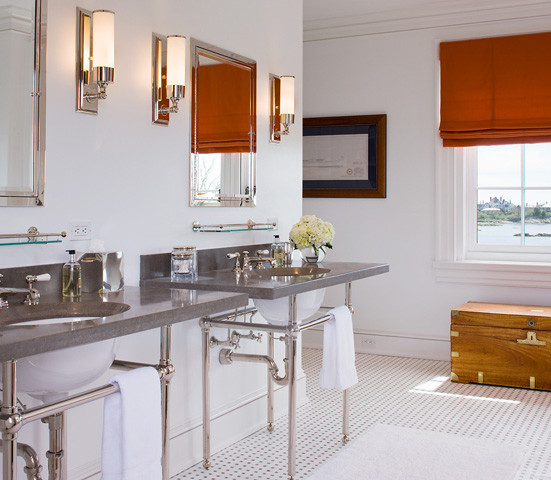 Private Residence in Newport, RI traditional-bathroom