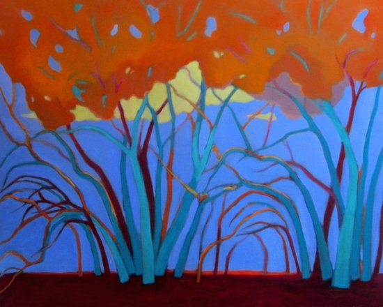 Tree Energy / Structure     30x36 -