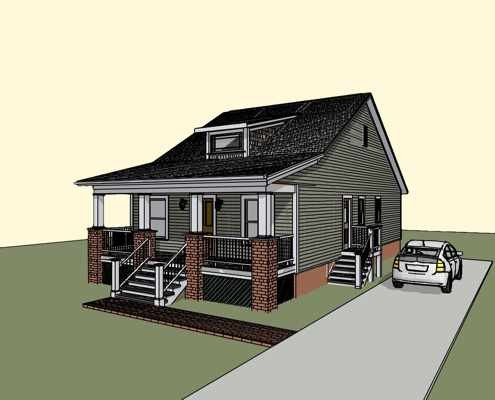 Rick thompson house plan 1007b Thompson house plans