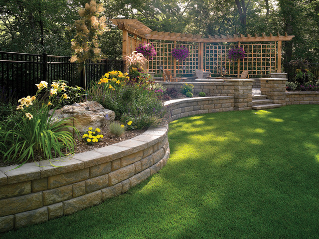 bayfield retaining wall by basalite other metro by basalite