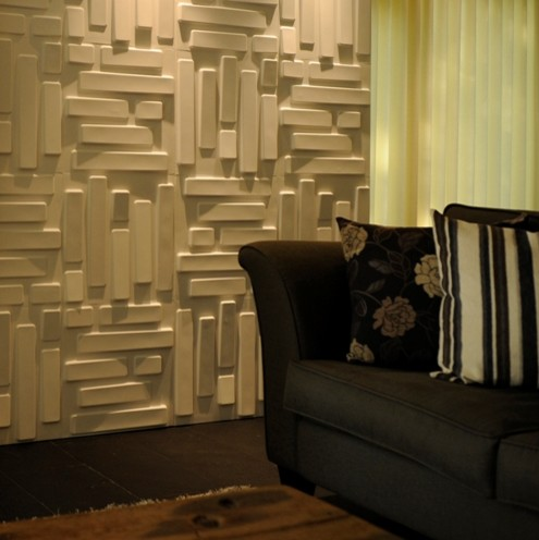 embossed wall paper modern-wallpaper