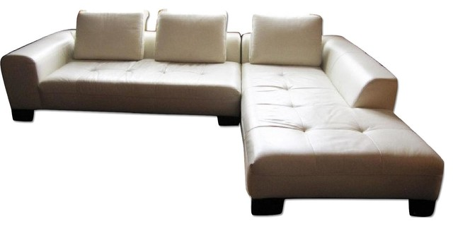 Z gallerie white leather sectional sofa sectional sofas for Z gallerie leather sectional sofa