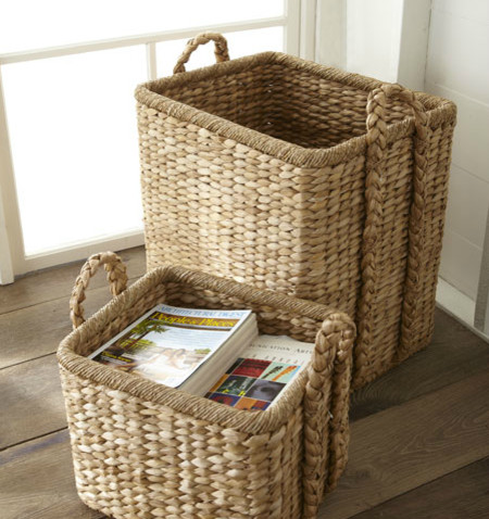 Handwoven Seagrass Baskets traditional-baskets