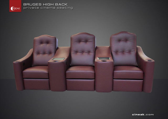 The BRUGES the most comfortable cinema seat. traditional-sectional-sofas