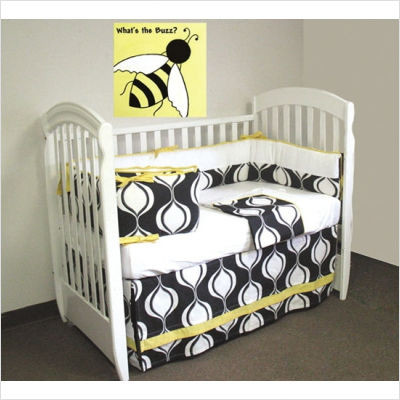 Bebe Chic Mod Squad Crib Bedding Collection modern-baby-bedding