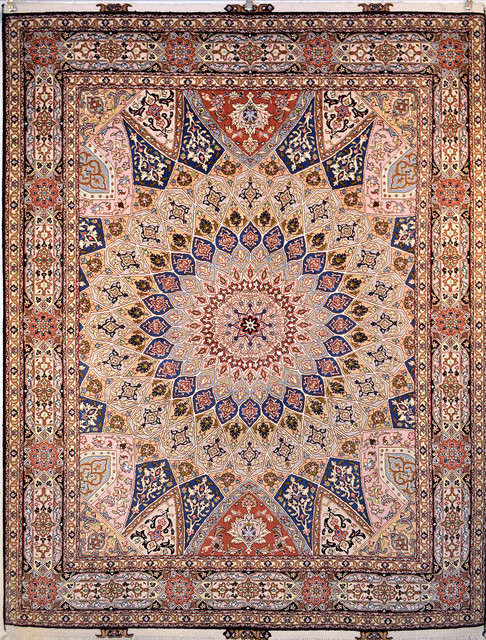 Persian Area Rug 4x6-5x8 traditional-rugs
