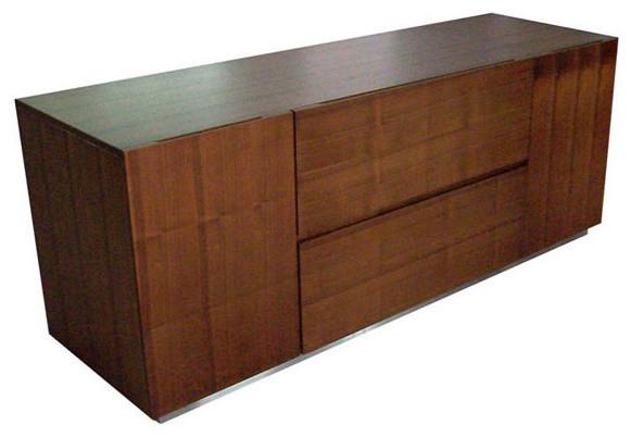 Manhattan Credenza in Walnut - Modern - Filing Cabinets ...