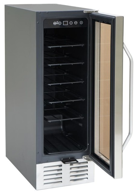 Under Counter Wine and Beverage Cooler - Contemporary - Beer And Wine Refrigerators - by ivgStores