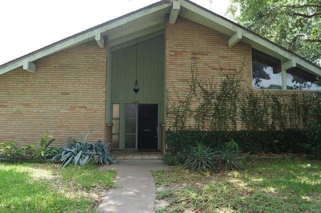 Fantastic Houston Mid Century Modern Restoration