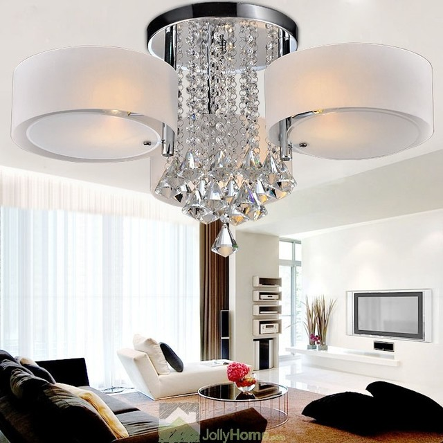 Creative Italian Style Ceiling Light with High Quality Crystal modern-ceiling-lighting