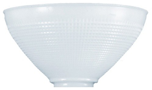 IES Glass Replacement Shade - 3-Inch Fitter Opening ...