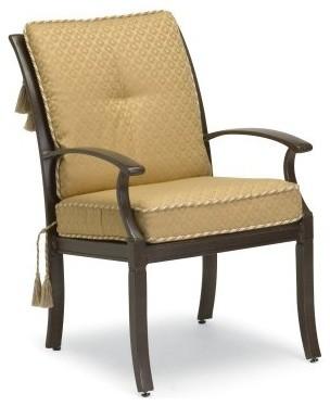 Woodard Sheridan Cushion Dining Chair - Target Back - Set of 2 modern-patio-furniture-and-outdoor-furniture