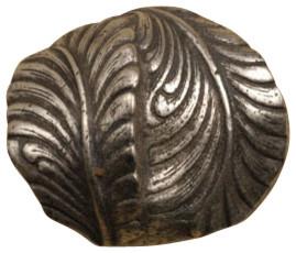 Swirl Leaf Knob modern-cabinet-and-drawer-knobs
