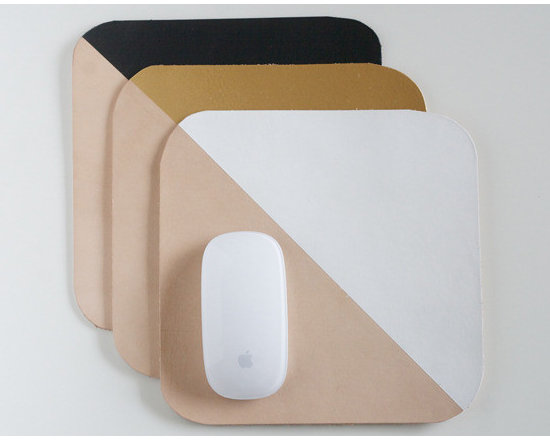 Leather Mouse Pad -