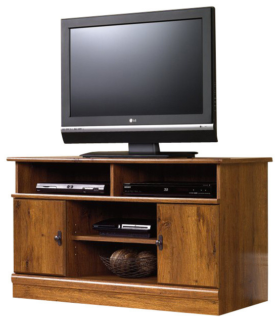 Sauder harvest mill panel tv stand traditional entertainment centers and tv stands by cymax - Sauder harvest mill home theater ...