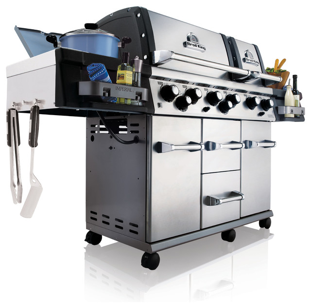 Imperial XL NG Grill contemporary-outdoor-grills