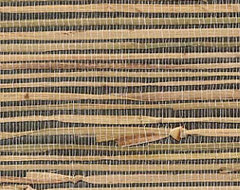 Kenneth James Grasscloth Wallpaper eclectic-wallpaper