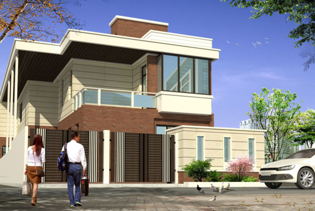 House designs indian homes modern other metro by Designer houses in india