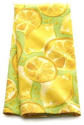 Lemon Grove Dishtowel contemporary-dish-towels