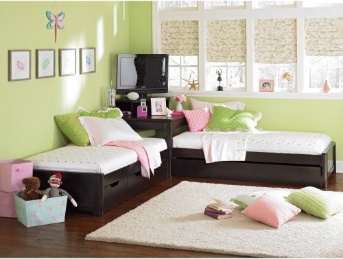 Lea Industries Midtown 2 Twin Beds Suite contemporary kids beds