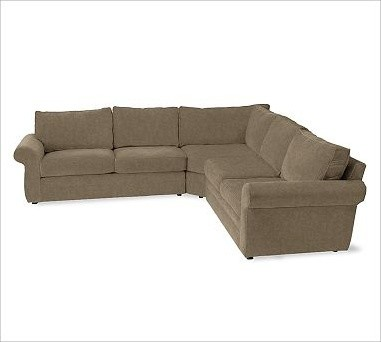Pearce 3 Piece L Shaped Sectional Everydaysuede Tm
