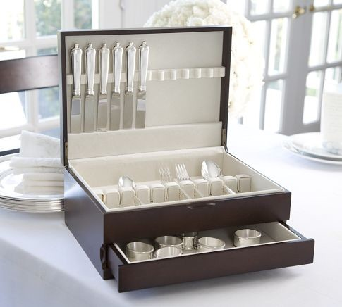 Flatware Storage Box traditional-flatware