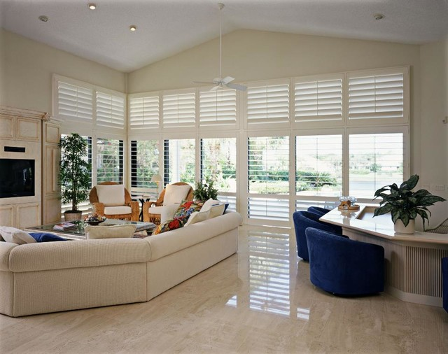 Woodfold Shutters contemporary