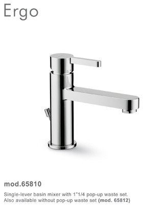 Ergo Faucets and Fixtures by Newform modern-bathroom-faucets