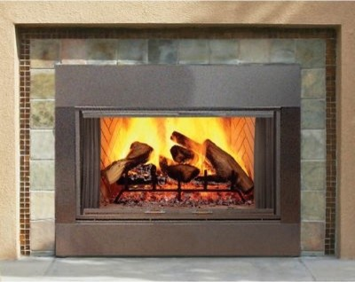Majestic sb series wood burning outdoor fireplace insert Contemporary wood fireplace insert