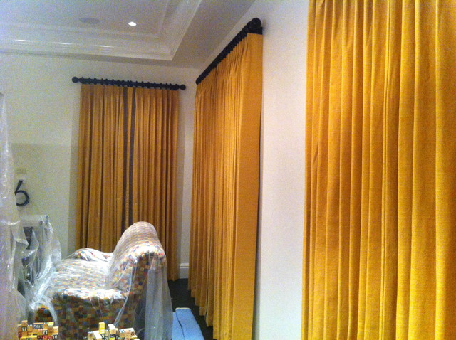Drapery Ideas Eclectic Curtains Tampa By Curtain Pros