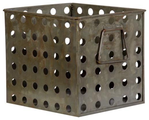 Decorative Metal Cabinet Basket Wastebaskets Tampa