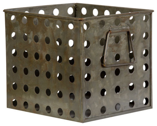 Decorative Metal Cabinet Basket wastebaskets