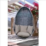 Vifah Hanging Chair, Light Gray eclectic-outdoor-chairs